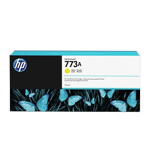 HP 773A 775-ml Yellow Ink Cartridge
