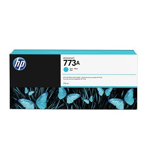 HP 773A 775-ml Cyan Ink Cartridge