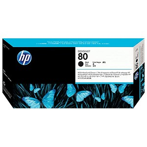 HP 80 Black Printhead/Printhead Cleaner