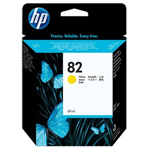HP 82 Yellow Ink Cartridge (69 ml)