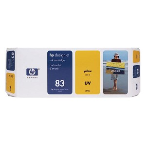 HP 83 Yellow UV Ink Cartridge (680 ml)