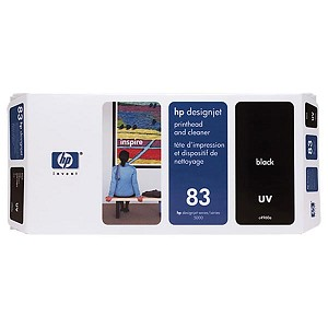 HP 83 Black UV Printhead/Cleaner