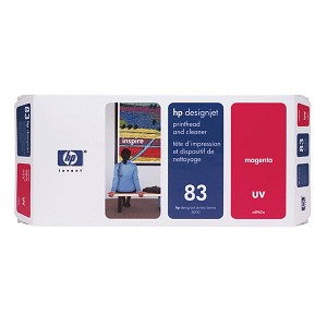 HP 83 Magenta UV Printhead/Cleaner