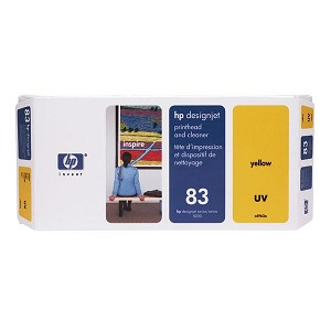 HP 83 Yellow UV Printhead/Cleaner
