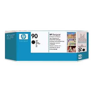 HP 90 Black Printhead/Printhead Cleaner