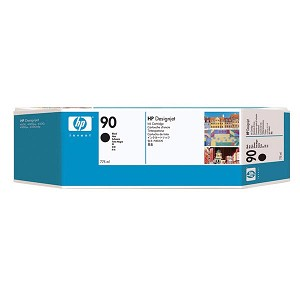 HP 90 Black Ink Cartridge (775 ml)