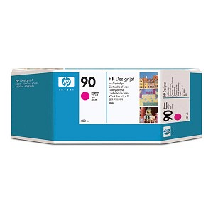 HP 90 Magenta Ink Cartridge (400 ml)