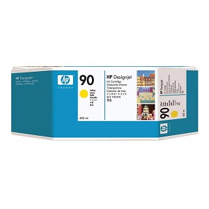 HP 90 Yellow Ink Cartridge (400 ml)
