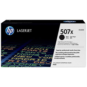 HP 507X/500 color MFP M570/M575c  Black Toner Crtg
