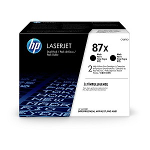 HP LJ Ent M506/MFP M527 (87X) High Yield - 2 Pack