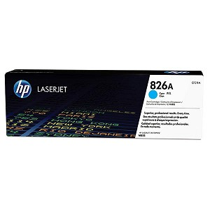 HP 826A Cyan LaserJet Toner Cartridge