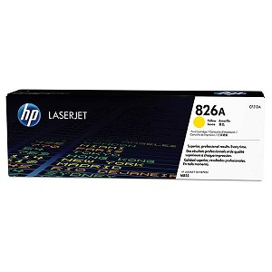 HP 826A Yellow LaserJet Toner Cartridge