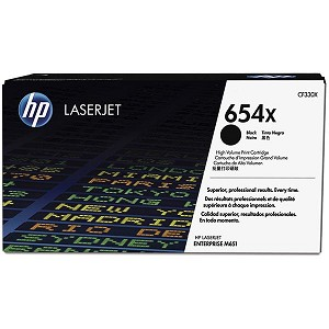 HP CLJ Ent M651 Black 654X High Yield Toner Cartridge