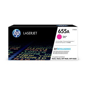 HP CLJ Ent M652/M653 series 655A Magenta Ctrg