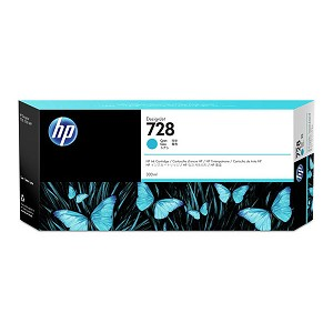 HP 728 40-ml Cyan DesignJet Ink Cartridge
