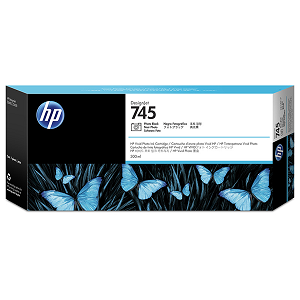 HP 745 300-ml Photo BlackDesignJet Ink Cartridge
