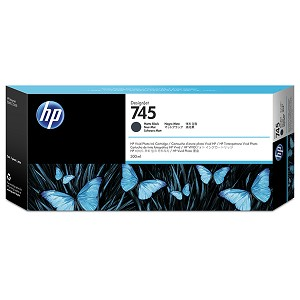 HP 745 300-ml Matte Black DesignJet Ink Cartridge