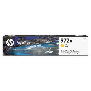 HP 972A Yellow Original PageWide Cartridge